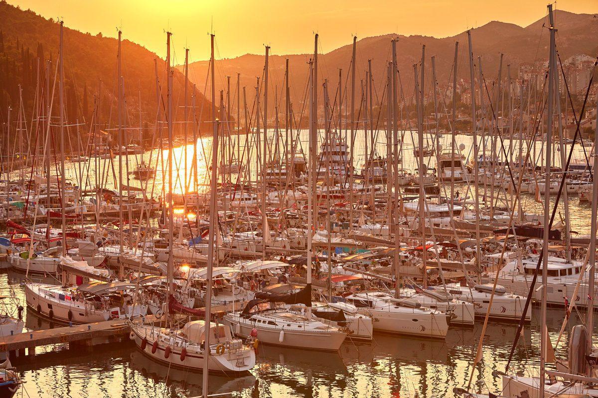 ACI marina Dubrovnik, 08-2018 foto: Davor Zunic / Fotofaktor.com