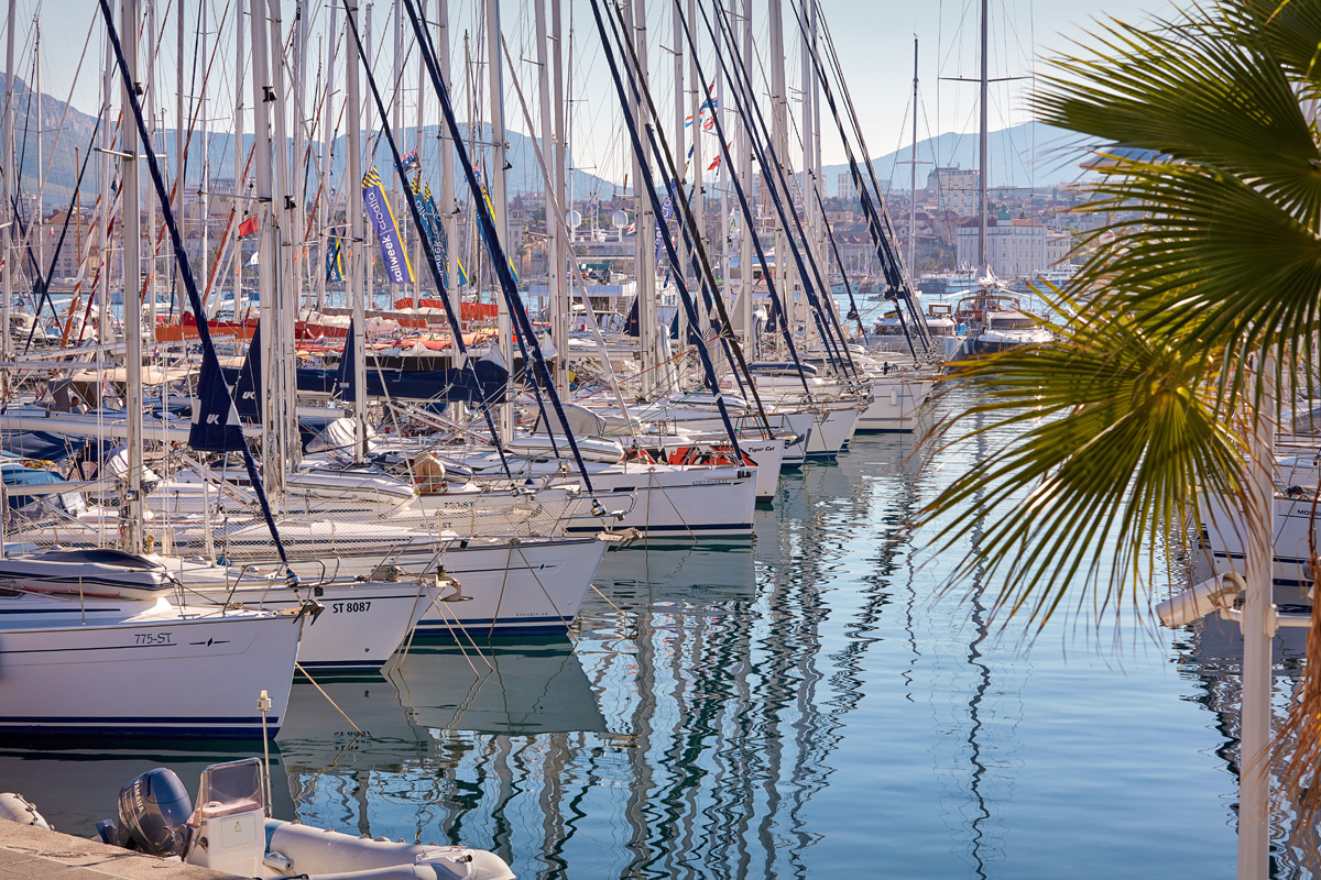 Split, 07/2018 ACI marina Split Davor Zunic